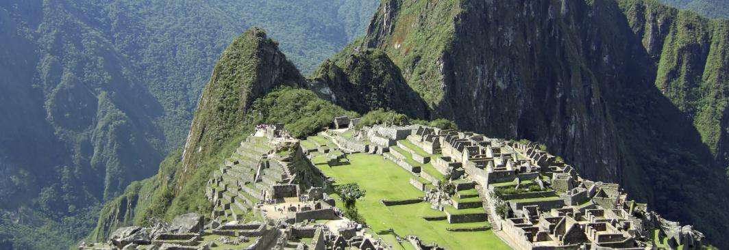 Image of South America Travel Destination Machu Picchu