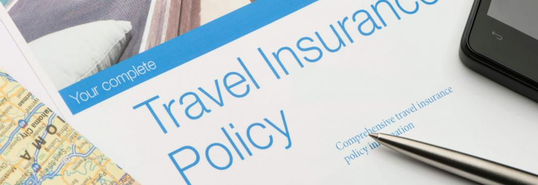 image of travel insurance policy